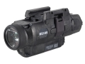 Insight Tech Gear WL1-AA Long Gun Tactical Illuminator Flashlight with Laser LED  Quick Release Rail Mount Black