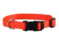 "Remington Adjustable Clip Dog Collar 5/8"" x 10-14""  Nylon Blaze Orange"