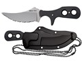 "Cold Steel Mini Tac Fixed Blade Knife 3-3/4"" AUS 8A Stainless Steel Blade G10 Handle"