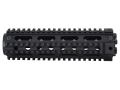 Yankee Hill Machine 2-Piece Handguard Quad Rail AR-15 Mid Length Aluminum Matte