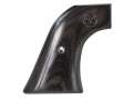 Ruger Factory Grips Ruger Super Blackhawk Laminated Wood Black