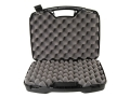 "MTM Double Pistol Case 12.2"" x 15.5"" x 3.6"" Polymer Black"