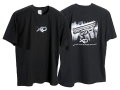 "Springfield Armory XD T-Shirt Short Sleeve Cotton Black Small (36"")"