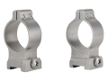 Talley 1&quot; Quick Detachable Scope Rings With Lever Stainless Steel High