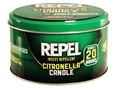 Repel Insect Repellent Citronella Candle 10 oz Green