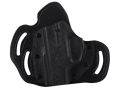 DeSantis Intimidator Outside the Waistband Holster Left Hand Ruger LC9 Kydex and Leather Black