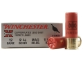 "Winchester Super-X Turkey Ammunition 12 Gauge 2-3/4"" 1-1/2 oz #4 Copper Plated Shot Box of 10"
