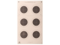 NRA Official Smallbore Rifle Target A-51 50-Yard UIT Paper Package of 100