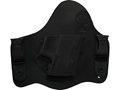 CrossBreed SuperTuck Deluxe Inside the Waistband Holster Right Hand Glock 17, 19, 22, 23, 34, 35 Leather and Kydex Black