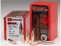 Hornady Gilding Metal Expanding Bullets 8mm (323 Diameter) 180 Grain GMX Boat Tail Lead-Free Box of 50