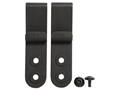 DeSantis J-Hook Holster Clips for DeSantis Intruder Holsters Set of 2 Polymer Black