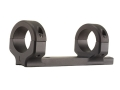 "DNZ Products Game Reaper 1-Piece Scope Base with 1"" Integral Rings Remington 7 Matte Low"