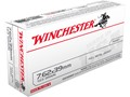 Winchester USA Ammunition 7.62x39mm 123 Grain Full Metal Jacket Box of 20