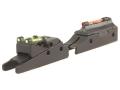 TRUGLO Pro-Series Magnum Gobble Dot Sight Set Fits Beretta, Franchi, Browning Shotgun with 6mm Vent Rib Steel Fiber Optic Red Front, Green Rear