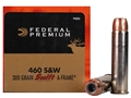 Federal Premium Vital-Shok Ammunition 460 S&W Magnum 300 Grain Swift A-Frame Box of 20