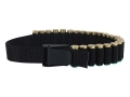 Uncle Mike's Shotshell Ammunition Carrier Belt Adjustable 25-Round Nylon Black