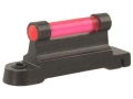 "NECG Ruger Front Ramp Replacement Front Sight .375"" Height Steel Blue 3/32"" Fiber Optic Red"