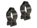 Talley 1&quot; Fixed Scope Rings Matte Medium