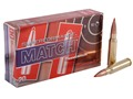 Hornady SUPERFORMANCE Ammunition 308 Winchester 168 Grain A-Max Match Box of 20