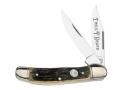 Boker Copperhead Folding Pocket Knife 2-Blade High Carbon Solingen Stainless Steel Blade Beer Barrel Handle