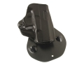 Product detail of DeSantis Top Cop Paddle Holster Right Hand Glock 26, 27 Leather Black