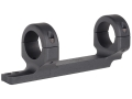 DNZ Products Game Reaper 1-Piece Scope Base with 1&quot; Integral Rings Thompson Center Encore, Omega EER Matte Low