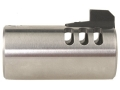 Volquartsen V-Comp Compensator with Front Sight Bull Barrel Ruger Mark II, III, 22/45 Silver