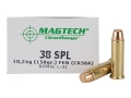 Magtech Clean Range Ammunition 38 Special 158 Grain Encapsulated Flat Nose