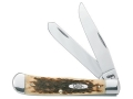 Case Trapper Folding Pocket Knife 2-Blade Stainless Steel Blade