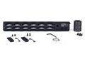 ALG Defense Ergonomic Modular Rail Free Float Handguard AR-15 Aluminum Black 13""