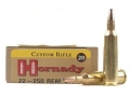 Hornady Custom Ammunition 22-250 Remington 60 Grain InterLock Spire Point Box of 20