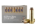 Cor-Bon Self-Defense Ammunition 41 Remington Magnum 170 Grain Jacketed Hollow Point Box of 20