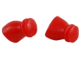 SportEAR Sport Plugz Pro with Lanyard Ear Plugs (NRR 12dB) Red