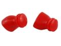 SportEAR Sport Plugz Pro with Lanyard Ear Plugs (NRR 12dB) Red