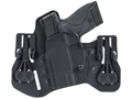 BLACKHAWK! Tuckable Pancake Inside the Waistband Holster Ruger SP01, Taurus 85 Leather and Polymer Black