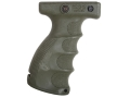 Mako Vertical Forend Grip Quick Release AR-15 Polymer Olive Drab