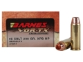Product detail of Barnes VOR-TX Ammunition 45 Colt (Long Colt) 200 Grain XPB Hollow Point Lead-Free Box of 20