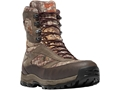 """Danner High Ground 8"""" 1000 Gram Insulated Waterproof Hunting Boots Leather and Nylon Realtree Xtra Camo Men's"""