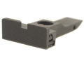 Kensight Adjustable Rear Sight Elliason Cut Steel Black Square Blade Fully Serrated