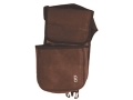 Bob Allen Classic Divided Shotgun Shell Pouch with Belt