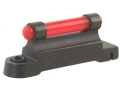 "NECG Ruger Front Ramp Replacement Front Sight .350"" Height Steel Blue 3/32"" Fiber Optic Red"