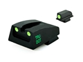 Meprolight Tru-Dot Sight Set Para LDA (Post-2007) Steel Blue Tritium Green