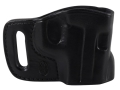 El Paso Saddlery Combat Express Belt Slide Holster Right Hand Sig Sauer P220, P226, P229, P228, P225 Leather Black