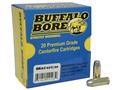 Buffalo Bore Ammunition 10mm Auto 220 Grain Hard Cast Flat Nose Box of 20