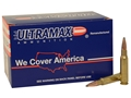 Ultramax Remanufactured Ammunition 308 Winchester 165 Grain Soft Point Box of 60