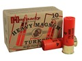 "Hornady Heavy Magnum Turkey Ammunition 12 Gauge 3"" 1-1/2 oz #4 Nickel Plated Shot Box of 10"