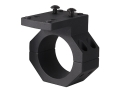 "JP Enterprises JPoint Electronic Sight Piggy Back Scope Mount with Adapter Ring fits 1"" and 30mm Scope Tube Aluminum Matte"