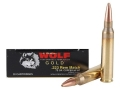 Product detail of Wolf Gold Ammunition 223 Remington Match 75 Grain Hollow Point Boat Tail