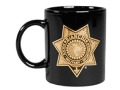 Bianchi 935 Star Mug Black with Star