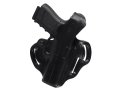 DeSantis Thumb Break Scabbard Belt Holster Right Hand Glock 20, 20SF, 21 Leather Black
